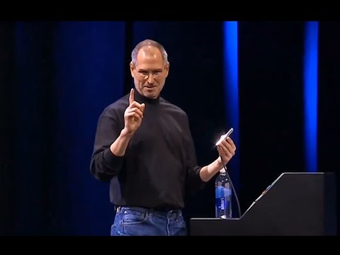 Steve Jobs Introduces the iPhone to the World 2007