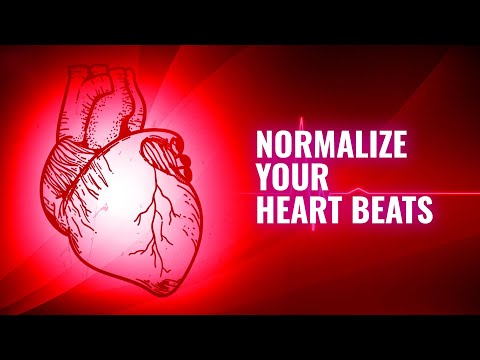 Normalize Your Heart Beats : Normalize Blood Pressure - Reduce Hypertension - Deep Sleep Hypnosis