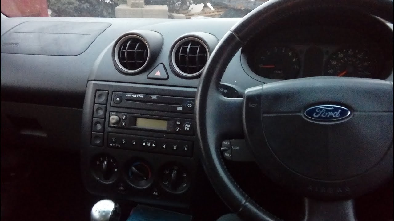 Fiesta Mk5 2002 2008 Triple Dash How To Remove Amp Refit A