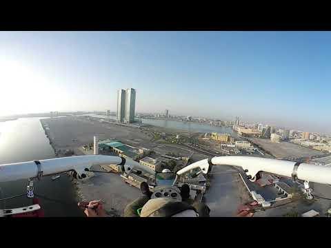 360 Xcitor flying over RAK (celebrating sheikh Mohammed bin Saoud wedding)
