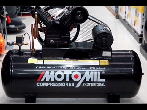 Motomil - Compressor de Ar de Alta Pressão CMAV20/200