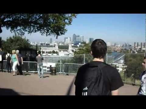 Video Arriving at Royal Observatory in Greenwich