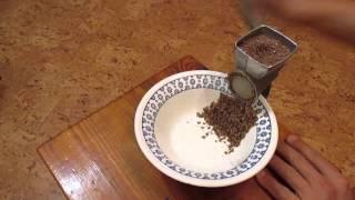 Льняной смузи (льняная каша) - сыроедческое блюдо