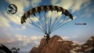 parachute thrusters