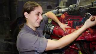 Female Diesel Mechanic Breaking Traditions