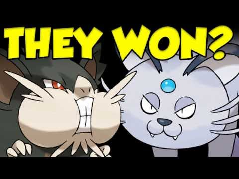 Raticate And Persian... On The Same Team... WINNING?