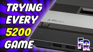 Atari 5200 (1982) Library | Trying all 69 Games