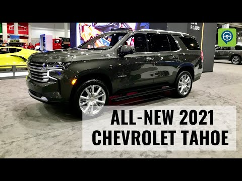 All-New 2021 Chevrolet Tahoe High Country