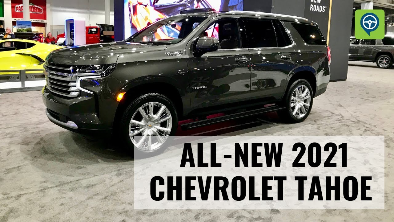 All-New 2021 Chevrolet Tahoe High Country - YouTube