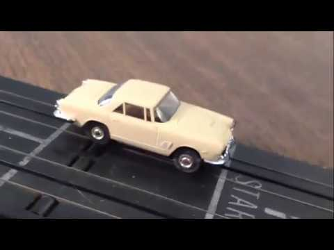 Aurora HO Slot Car Increacing The ThunderJet Value