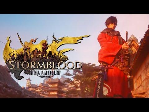 Final Fantasy XIV: Stormblood - Official Cinematic Samurai Announcement Trailer