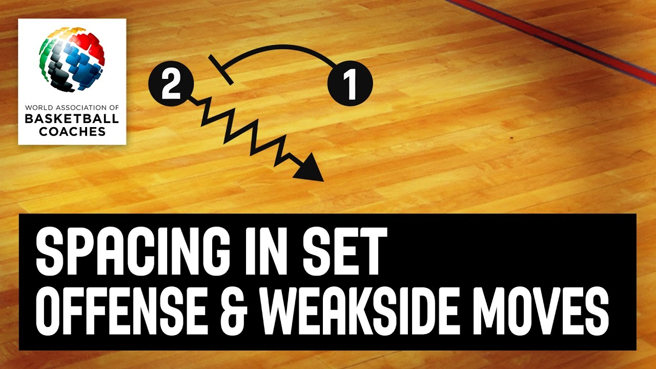 Spacing in set offense and weakside movement - Aleksandar Dzikic