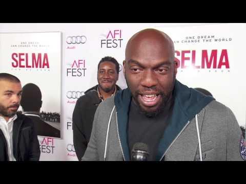 Selma: Omar Dorsey AFI Red Carpet Movie Premiere