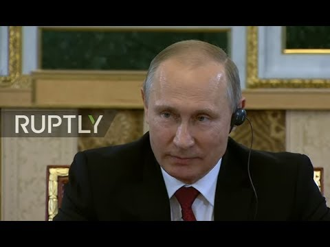 LIVE: Putin meets with heads of Russian and foreign news age