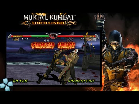 PPSSPP Mortal Kombat Unchained | 60 Fps Gameplay