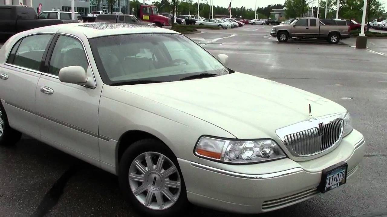 2007 lincoln town car signature limited edition youtube. Black Bedroom Furniture Sets. Home Design Ideas