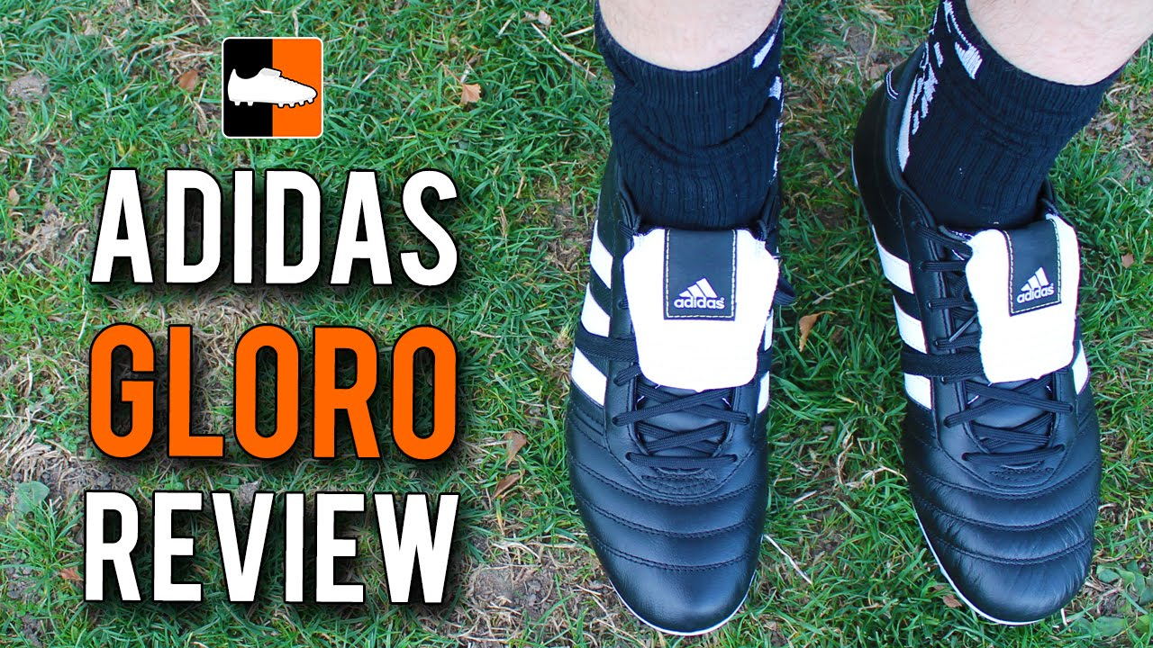super popular e8de8 6d3c7 adidas Gloro Review - BlackWhite Edition