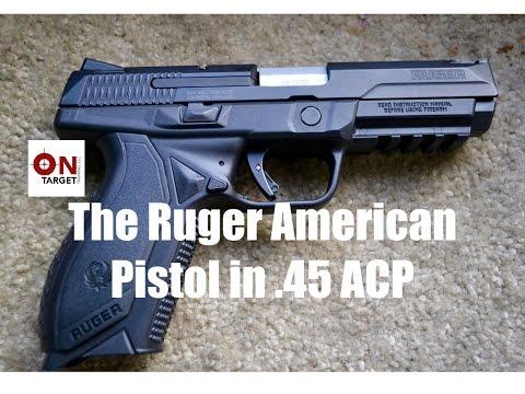 "Ruger ""American""  Pistol In .45 ACP"