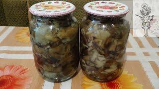 Маринованные опята на зиму, делаем вкусные заготовки из грибов(Вкусные маринованные опята на зиму. Смотрите один из простых и вкусных рецептов заготовки из грибов. В..., 2015-10-05T15:00:01.000Z)