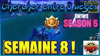 FORTNITE CHALLENGE GOING ON COMBAT S5 W8 STAR SEARCH BETWEEN 3 SEATS GIANTS... TUTORIAL EN