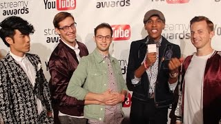 Baixar Streamy Award Winners The Try Guys Interview at The Streamy Awards Nominations Party