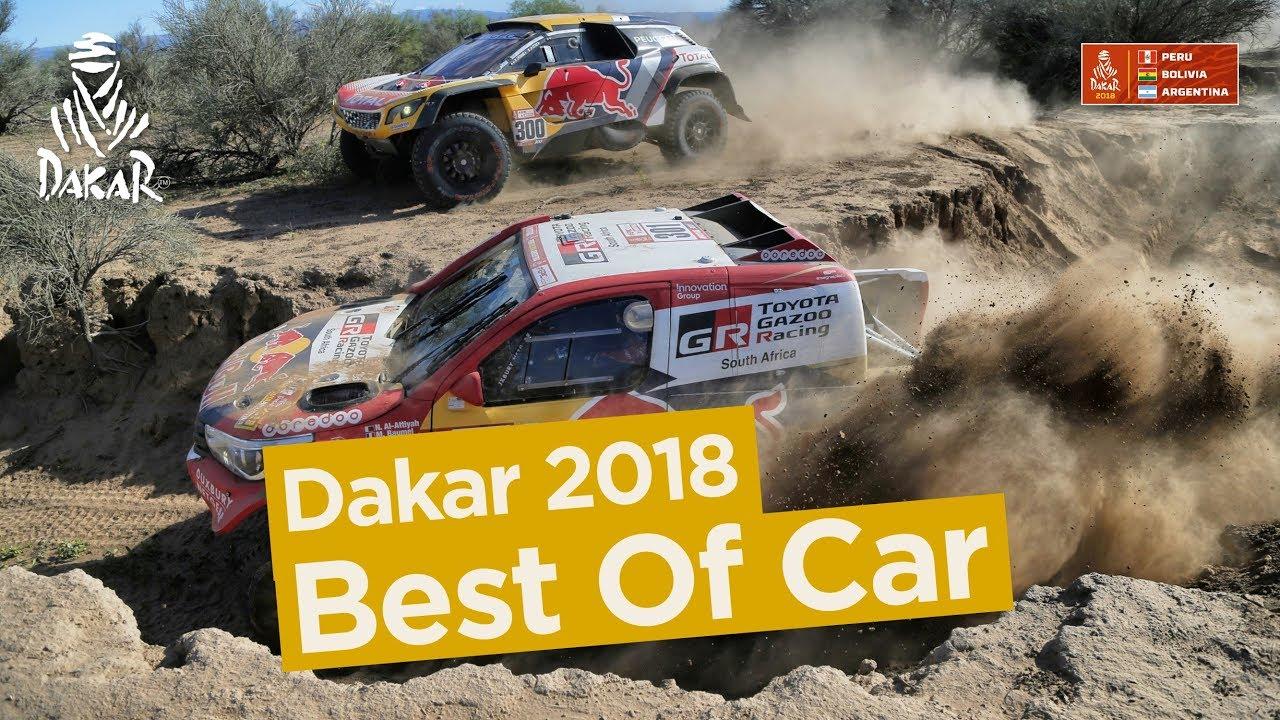 Best Of Car - Dakar 2018 #1