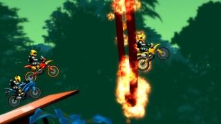 juego de carreras de motos en la jungla para niños 2017 HD