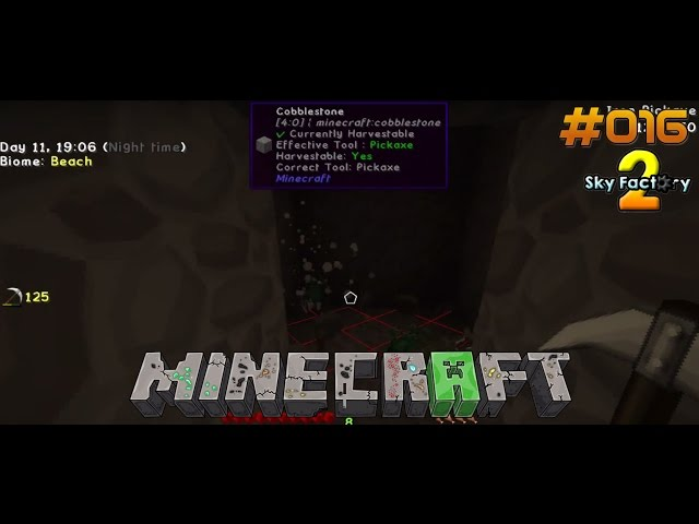 Let's Play Minecraft Sky-Factory 2 | Mobfarm läuft. Auf ans Nächste Projekt | Folge #016