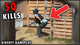 Le DISPARÉ en las PELOTAS 😢 ▬ Hago 50 KILLS 💀▬ Airsoft Gameplay