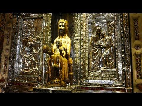 Schwarze Madonna, Kloster Montserrat, Knabenchor, Marienlied Virolai
