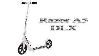 Распаковка самоката Razor A5 DLX (новинка 2017)