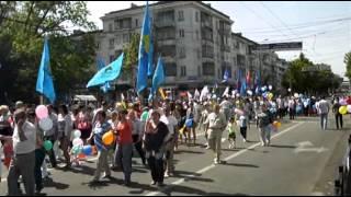 Празднование первомая. Симферополь, 2012 год(, 2012-05-10T06:45:01.000Z)