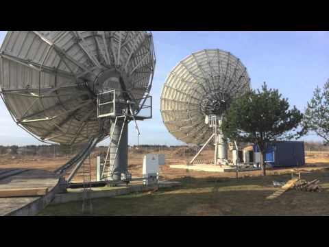 Vertex 11m Earth Station Antenna installation in Lithuania by Skybrokers