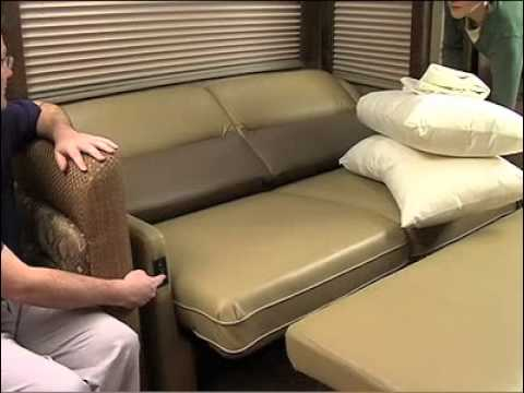 Rest Easy Sofa Couch Lounger Bed From Winnebago Industries Lichtsinn Motors Rv