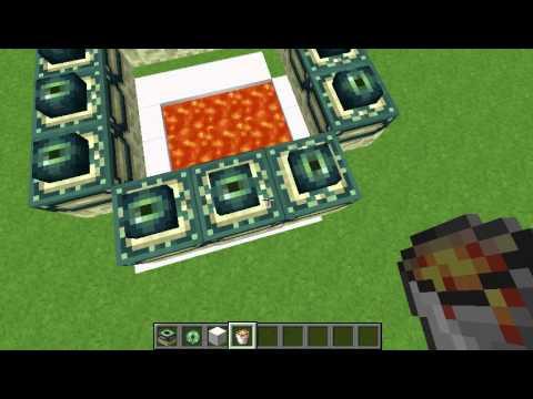 Minecraft Himmel Portal