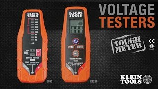 Voltage Testers: ET60 and ET250