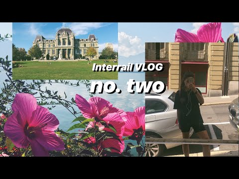 #DiscoverEU - Traveling through Europe on my own  //VLOG no. two // Switzerland, Workaway, Solotrip