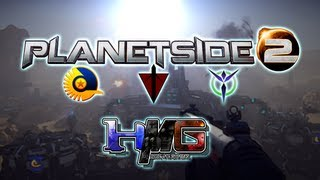 Planetside 2 Beta - Gameplay - Terran Republic - 1st Day without NDA | HM:TV