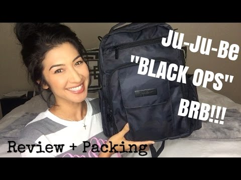 Ju-Ju-Be Black Ops BRB (Be Right Back) Review, Preview and Packing!