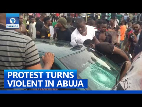 #SARSMustEnd: Several Injured As Hoodlums Attack Protesters In Abuja
