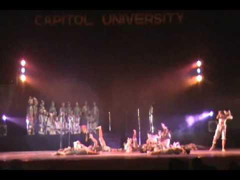 Capitol University Dance Troupe chua ay