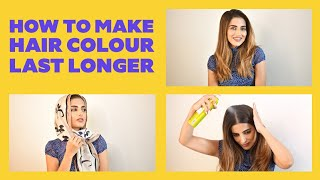 How To Make Your Hair Color Last Longer | Hair Care Tips By Knot Me Pretty | Be Beautiful