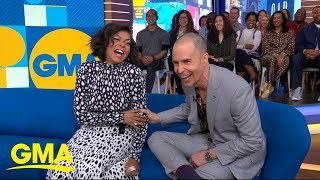 Taraji P. Henson and Sam Rockwell on the true story behind 'The Best of Enemies' l GMA Thumb