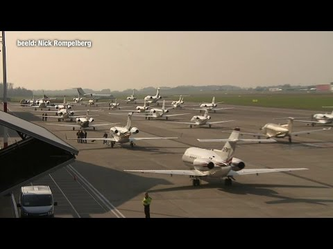 Dure jets landen voor TEFAF