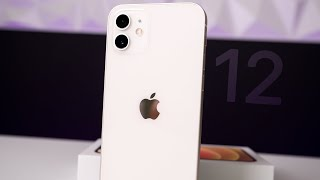 WHITE iPhone 12 Unboxing & Comparison!