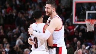 McCollum and Nurkic Lead Blazers In Big Win Over Nuggets | March 28, 2017