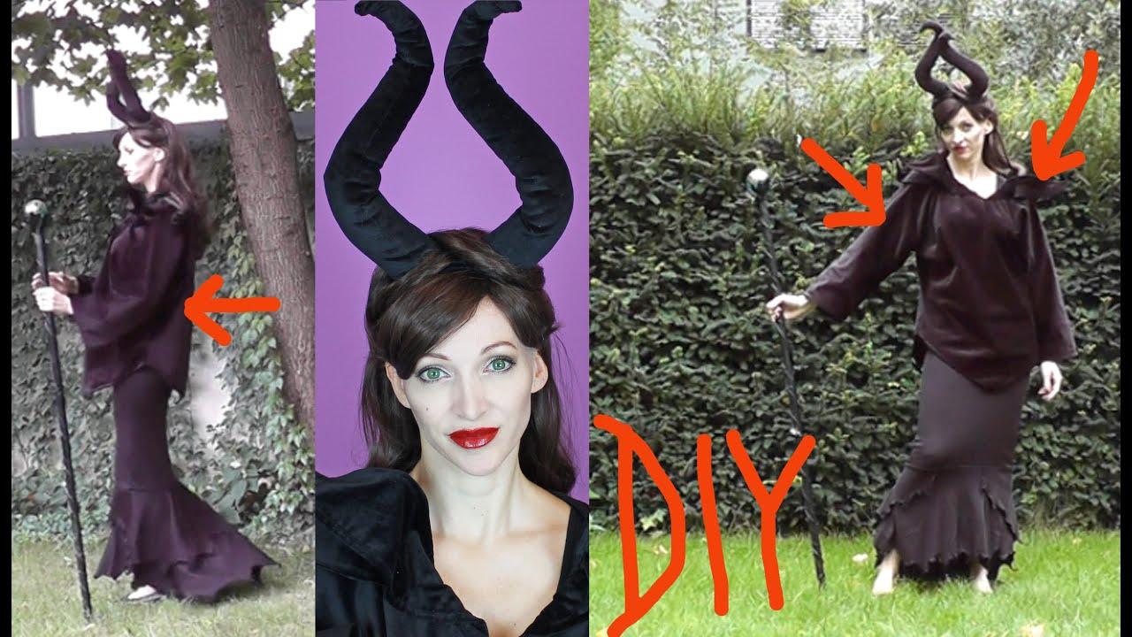 Diy Maleficent Costume Halloween 2015 3