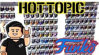 Funko Pop EXCLUSIVOS Conozcamos la Tienda HOT TOPIC #CharlyDS