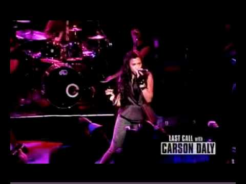 Melanie Fiona performs Give It To Me Right on Last call With Carson Daly