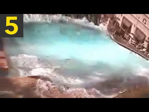 5 Swimming Pools During Quakes